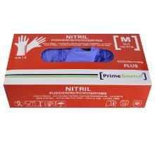 Handske Engangs Prime Source Nitril M Acceleratorfri uden Pudder AQL 1.5 Blå product photo