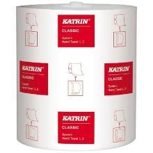 Håndklæderulle Katrin Classic system 2-lag 200 m Hvid Til Electronic 2508839 product photo