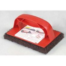3M Scotch Brite Grill Brick 9537 101x153mm med holder rød product photo