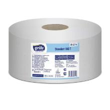 Toiletpapir Mini Ø195 mm 180 m 2-lag Perforeret Genbrugspapir product photo