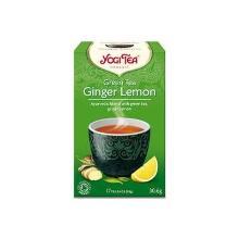 Te Yogi Green Ginger lemon 6x17 breve Økologisk (DK-ØKO-100) product photo