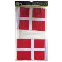 Flag Dannebrog A4 på plastpind product photo