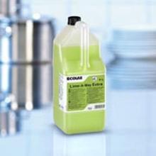 Kalkfjerner Lime-A-Way Ekstra sur med farve og parfume 5 ltr grøn product photo