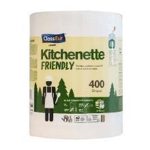 Køkkenrulle Maxi 2-lag 92 meter Ecofriendly Hvid product photo