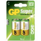 Batteri GP Super C 2-pak product photo