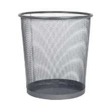Waste bin 15 litre metal silver product photo