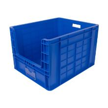 Large Stackable Storage Bin PP Blue 97ltr 600x500x400mm (LxBxH) product photo