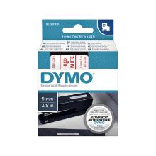 Dymo D1 Tape > Elec Labelmakers 9mmx7m Red on White 40915 S0720700 product photo