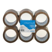 Packaging tape 48mmx66m brown 6pcs product photo